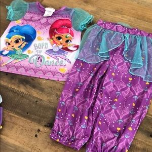 Nickelodeon shimmer and shine pjs